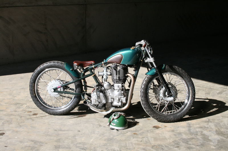 The Pup motorcycle by Old Empire Motorcycles
